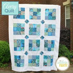 Purchase this quilt or the kit. Free tutorial.