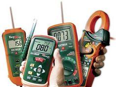Comercial A a Z, C. A. ofrece cuenta-metros, pinzas amperimétricas, multímetros, calibradores, meggers o medidores de aislamiento y toda la línea de productos FLIR Systems - EXTECH