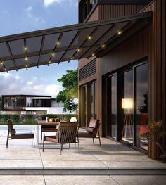 Novo - Sisteme Terase House 2, Outdoor Structures, Patio, Outdoor Decor, Motivation, Design, Home Decor, Noblesse, Houses