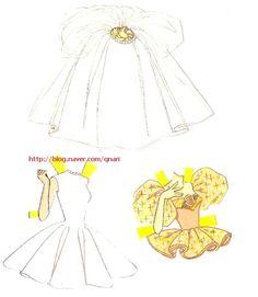 스포츠에 악기까지 정말 다재다능한 바비에요~ 사랑스런 핑크드레스와 우아한 웨딩드레스도 넘넘 예쁘네요 ...