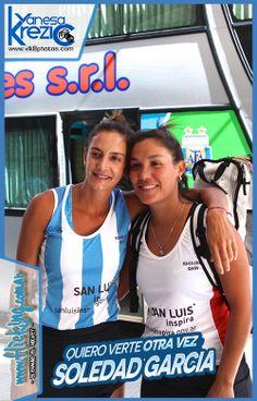 Luciana Aymar y Soledad Garcia