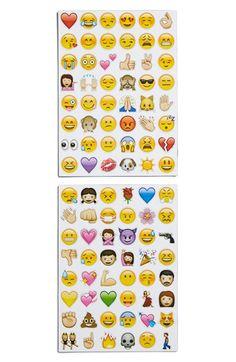 Emoji Sticker Pack Emoji Magnets (Set of 96) available at #Nordstrom