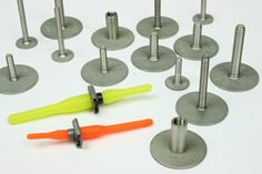 Bonded Fasteners to attach hardware to carbon fiber projects