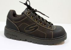 Skechers Mens 10 M Leather Shoes Casual Work Occupational Hiking Boots $34.95 Free Shipping!