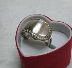 Nostalgischer Besteckschmuck-Ring 19,5 mm SR532 von Atelier Regina auf DaWanda.com