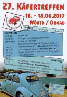 27. Treffen in Wörth an der Donau 16 – 18 Juni 2017 Wörth a. D., Germany