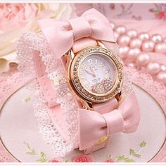 pink watch - Google Search