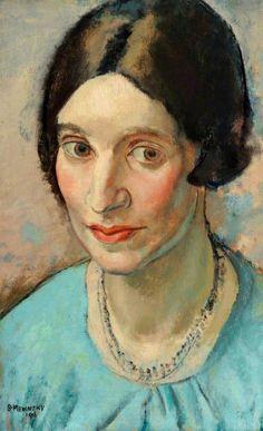 Bernard Meninsky (Ukraine 1891-1950 England), Portrait of a Girl