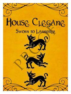 Game of Thrones House Sigils Wine Label House Targaryen ...