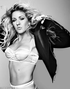 It's a choice: Ellie Goulding has insisted that her sexy outfits are not to get ahead in the music industry