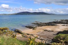 Looking across Lough Swilly towards Lisfannon from Kinnegar beach Rathmullan