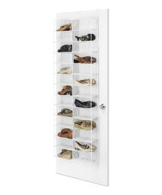 Organize Your Shoes Without Filling Up Your Closet Floor With The Whitmor  30 Pair Over The Door Shoe Rack. This Rack Features Adjustable Hooks Thatu2026