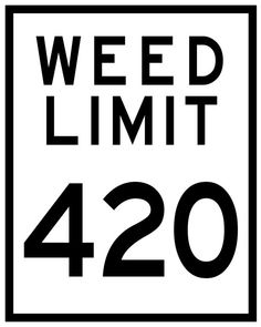 WEED LIMIT 420 Series by POTography on Etsy
