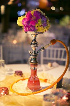 ... Who doesn't want  a hookah at their wedding reception [seriously, that would be awesome]?...why didnt I think of this!