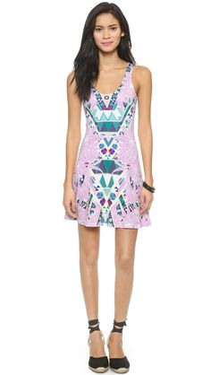 Mara Hoffman Ponte Circle Dress