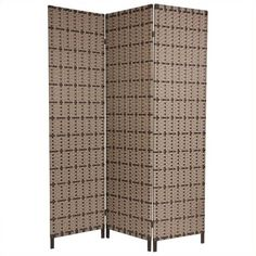 Oriental Furniture 6 ' Tall Tropical Outdoor Screen (1,470 ILS) ❤ liked on Polyvore featuring home, outdoors, outdoor decor, outdoor panels, outdoor screen, outdoor sculpture, alabaster sculpture and ivory sculpture
