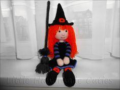 Katy the Witch Amigurumi Pattern (Halloween)