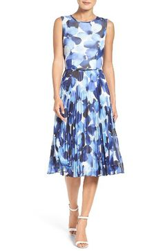 Maggy London Maggy London Watercolor Chiffon Dress available at #Nordstrom
