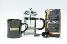 French Press Kit - Brew the best cup of French pressed coffee right from your kitchen with our French Press Kit, We give you all of the necessary tools to make an excellent brewed cup of coffee Coffee Cups, Coffee Maker, Brewing Equipment, Press Kit, French Press, Good Things, Tools, Kitchen, Coffee Maker Machine