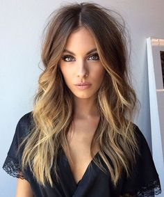 Marvelous Long Caramel Balayage Layered Hairstyles 2018 for A Trendy Look