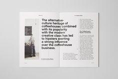 Estd An Academic Report on Editorial Design Served Editorial Design Layouts, Magazine Layout Design, Book Design Layout, Graphic Design Layouts, Print Layout, Web Design, Magazine Layouts, Design Posters, Design Ideas