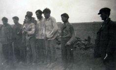 USSR, Autumn 1942, Gypsies prior to execution