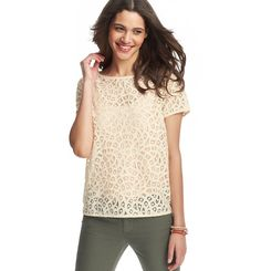 Flirty, but casual top that is perfect for a summer's night out.