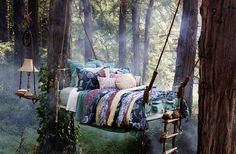 3. The enchanted forest princess sleeps here… - 21 Places to Take a Nap Straight Out Of Your Fantasies
