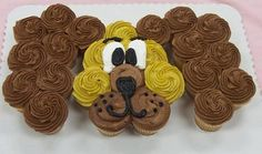 Dog Puppy Cupcake. For the dog's birthday