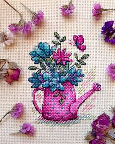 Brilliant Cross Stitch Embroidery Tips Ideas. Mesmerizing Cross Stitch Embroidery Tips Ideas. Monogram Cross Stitch, Tiny Cross Stitch, Cross Stitch Kitchen, Cross Stitch Cards, Cross Stitch Flowers, Cross Stitching, Cross Stitch Embroidery, Stitch Crochet, Crochet Cross