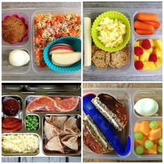 Here are a bunch of nut-free real food school lunch ideas for those who need them! #charlottepediatricclinic