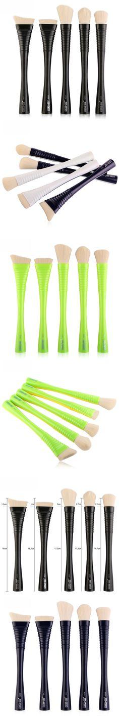 5pcs/set Blending Smooth Makeup Brushes Kits Waistline Kit Makeup Professional Cosmetic Brush Blush Makeup Beauty Tool