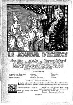 Lectures pour tous : revue universelle et populaire illustrée | 1927-08 | Gallica Art Deco Print, Lectures, 1920s, Colette, Popular