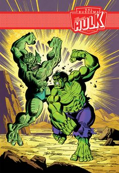 The Incredible Hulk – Sal Buscema Marvel Artist Select Series #1