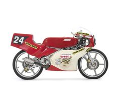 1985 MBA 125cc Grand Prix Racing Motorcycle