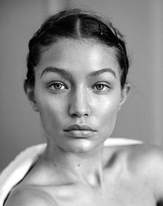 — Gigi Hadid by Camilla Akrans for Vogue Germany May...