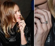 Pin for Later: The Very Best Celebrity Engagement Rings Kate Bosworth Kate Bosworth shared her happy news by tweeting a picture of her engagement ring from boyfriend Michael Polish.