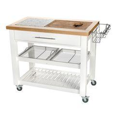 Küchenwagen Holz Servierwagen Beistellwagen Küchentrolley ...