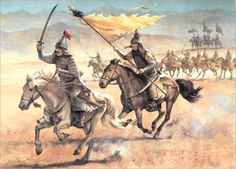 Ming Dynasty Warriors c. 1600s