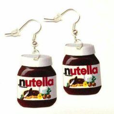 Aretes Nutella