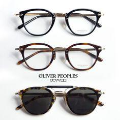 OLIVER PEOPLES オリバーピープルズ 507c ウェリントンメガネ 伊達 度入り クリップサングラス