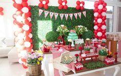 Festa Pic Nic por Party Charm e papelaria by Papel com Design #festaspersonalizadas #papelariapersonalizada #festainfantil #festamenina #picnic