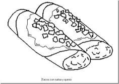 Dibujo de la bandera de Mxico para colorear e imprimir  Dibujos