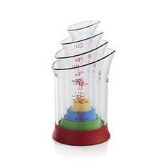 OXO ® 4-Piece Mini Measure Beaker Set#LGLimitlessDesign & #Contest