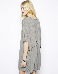 Just Female T-Shirt Dress With Back Detail