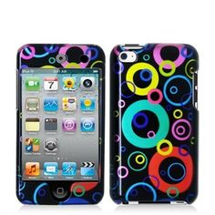 Bubbles 2d Hard Snap-on Crystal Skin Case Cover Accessory for Ipod Touch 4th Generation 4g 4 8gb 32gb 64gb New