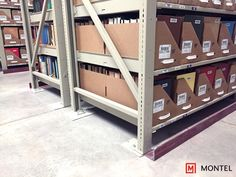 No inch of space goes unused with high-density high-bay shelving.