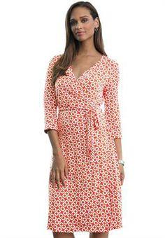 Plus Size Wrap Dress image