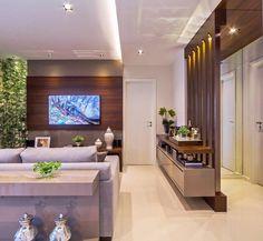 Hotel Bedroom Design, Home Room Design, Dream Home Design, Home Office Design, Home Interior Design, House Design, Living Room Partition Design, Room Partition Designs, Living Room Tv Unit Designs