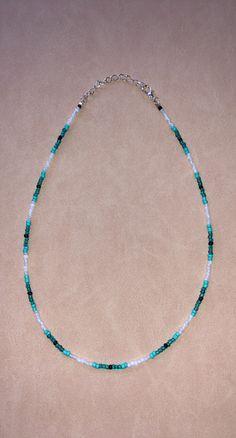 Bracelet Patterns, Bracelet Designs, Necklace Designs, Beaded Choker Necklace, Diy Necklace, Beaded Necklaces, Bead Jewellery, Beaded Jewelry, Cute Jewelry